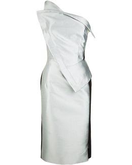 Origami One Shoulder Dress
