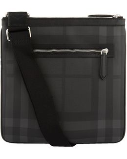 London Check Messenger Bag