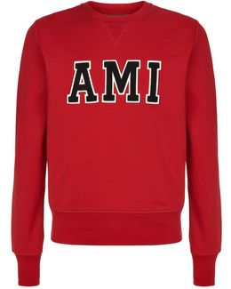 Crew Knit Logo Sweater