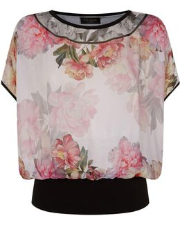 Fitsay Painted Posie Top