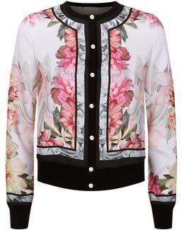 Kallai Floral Bomber Jacket