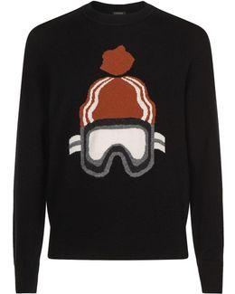 Ski Mask Cashmere Sweater