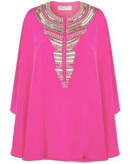 Embellished Short Kaftan