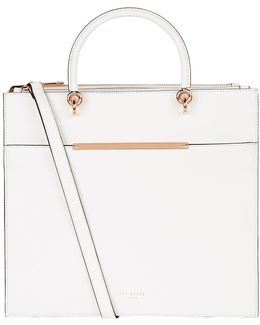 Maureen Leather Tote Bag
