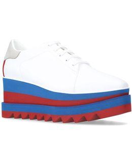 Elyse Stripe Platform Shoes
