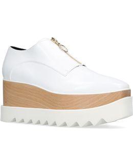 Elyse Zip Platform Shoes