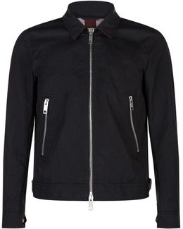Cropped Cotton Jacket