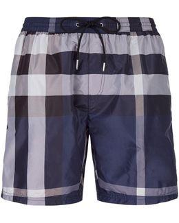 Nova Check Swim Shorts