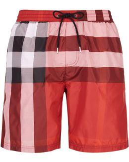 House-check Swim Shorts