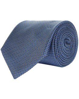 Diagonal Stitch Tie