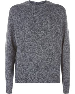 Flecked Cashmere Sweater