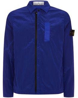 Crinkled Nylon Jacket