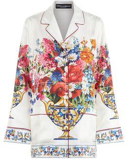 Print Pyjama Shirt