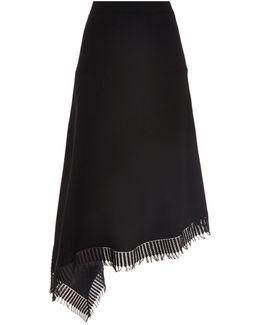 Tarring Asymmetric Skirt