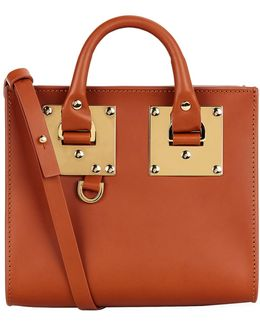 Small Albion Box Top Handle Bag
