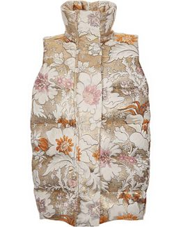 Botanical Down Ski Gilet