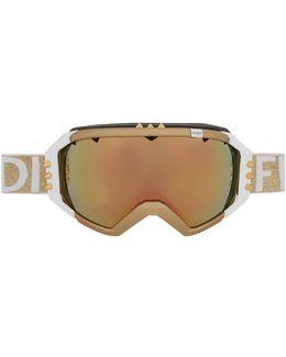 Embellished Ski Goggles