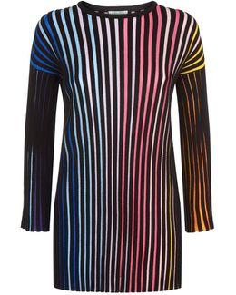Rib Knit Stripe Sweater