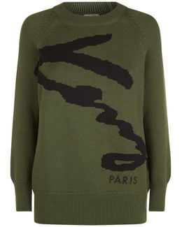 Signature Logo Knitted Sweater