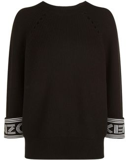 Turn Up Sleeve Sweater