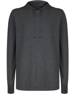 Jersey Hooded Lounge Top
