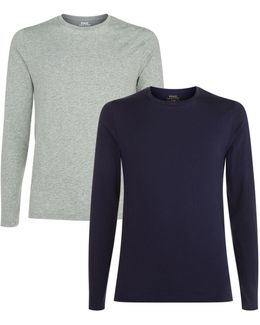 Long Sleeved T-shirt (pack Of 2)