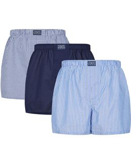 Classic Fit Boxers (set Of 3)