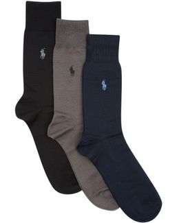 Fil D'ecosse Socks (pack Of 3)