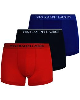 Logo Trunks (pack Of 3)