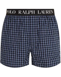 Checked Boxers