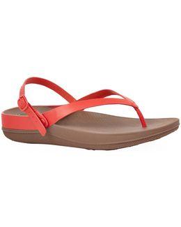 Fliptm Leather Sandals