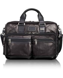 Andersen Slim Commuter Leather Briefcase