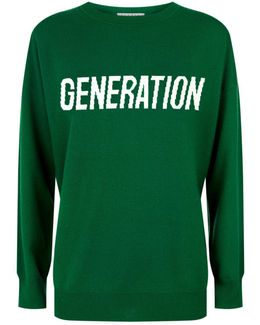 Generation Motif Wool-cashmere Sweater