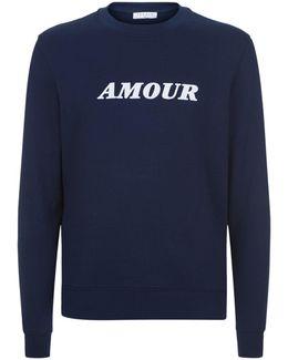 Motif Crew Neck Sweater