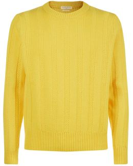 Knitted Italian Yarn Sweater