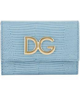 Logo French Flap Wallet