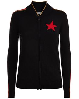Billie Cashmere Zip Sweater