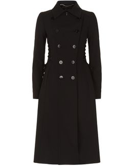 Myas Laced Trench Coat