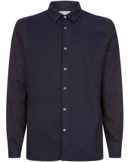 Tonal Check Shirt