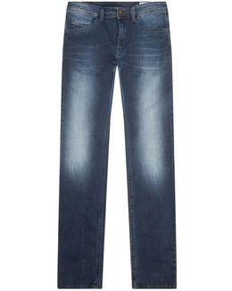 Stickker Skinny Faded Jeans
