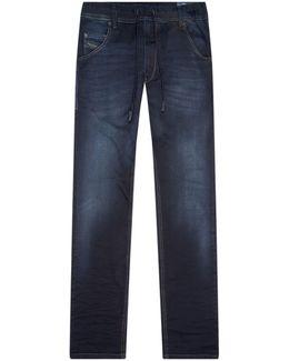 Krooley Drawstring Waistband Jeans