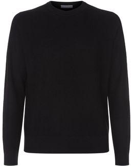 Knit Mesh Sweater