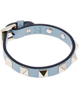 Leather Rockstud Bracelet