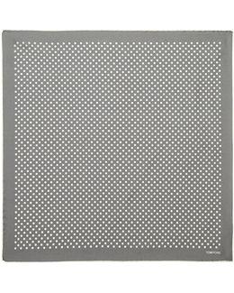 Polka-dot Pocket Square