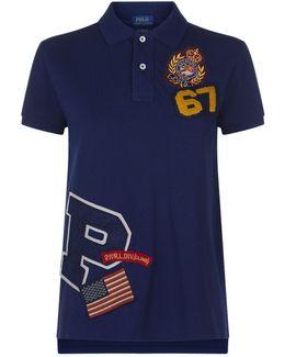 Badges Polo T-shirt
