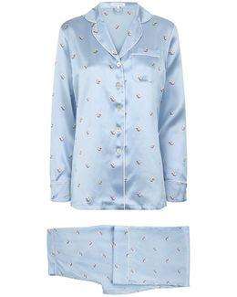 Lila Courtney Silk Pyjamas