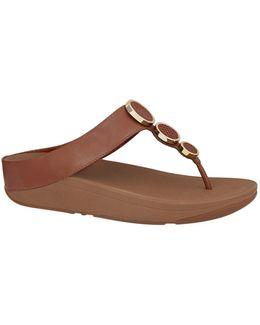 Halo Embellished Sandals