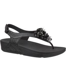 Boogaloo Embellished Strap Sandals