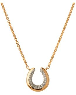 Ascot Diamond Essentials Horseshoe Necklace