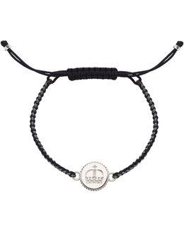 Ascot Crown Cord Bracelet